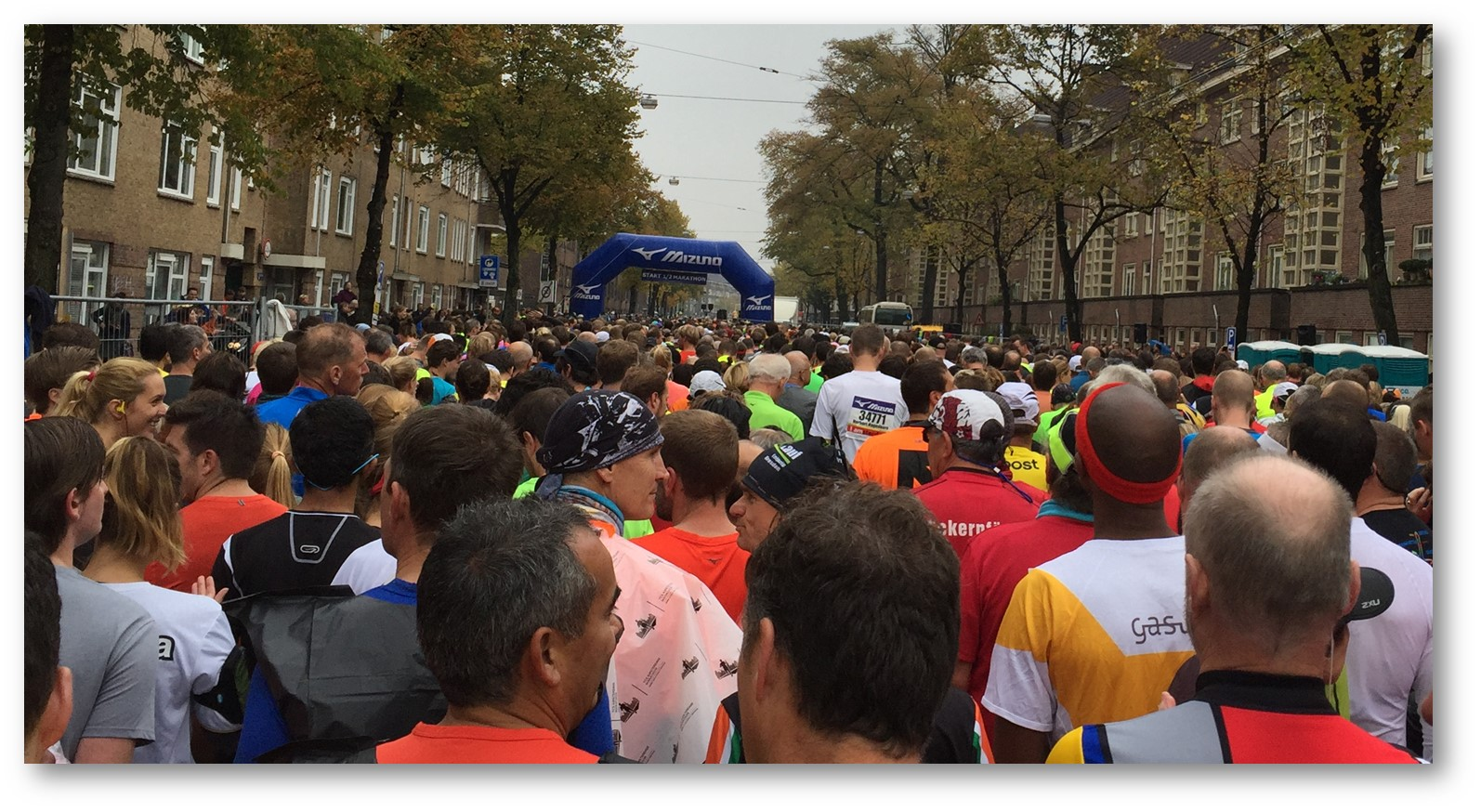 ½ Marathon Amsterdam